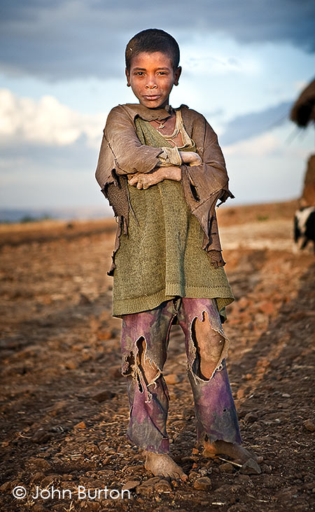 Child in Ethiopa