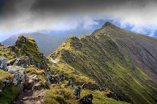 The South Ridge of Snowdon