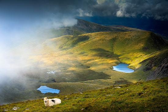 Near the Summit of Snowdon