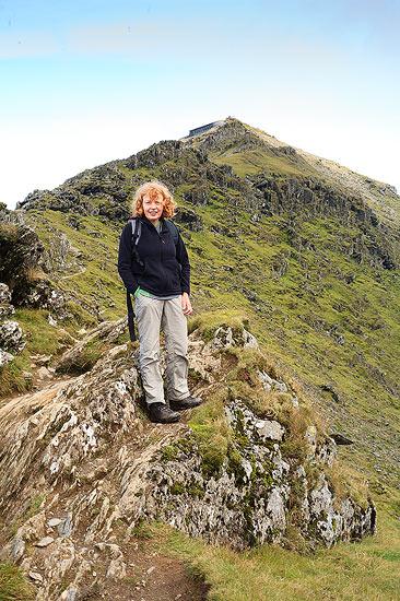 Liz Near the Summit