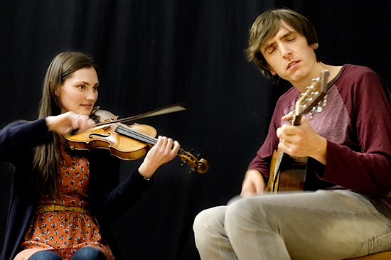 Zoe Conway and her husband John McIntyre