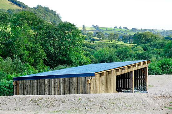 Barn Landscaped