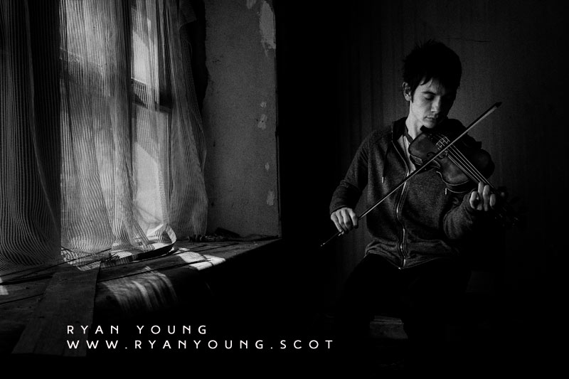 Ryan Young Traditional Scottish Fiddle Player