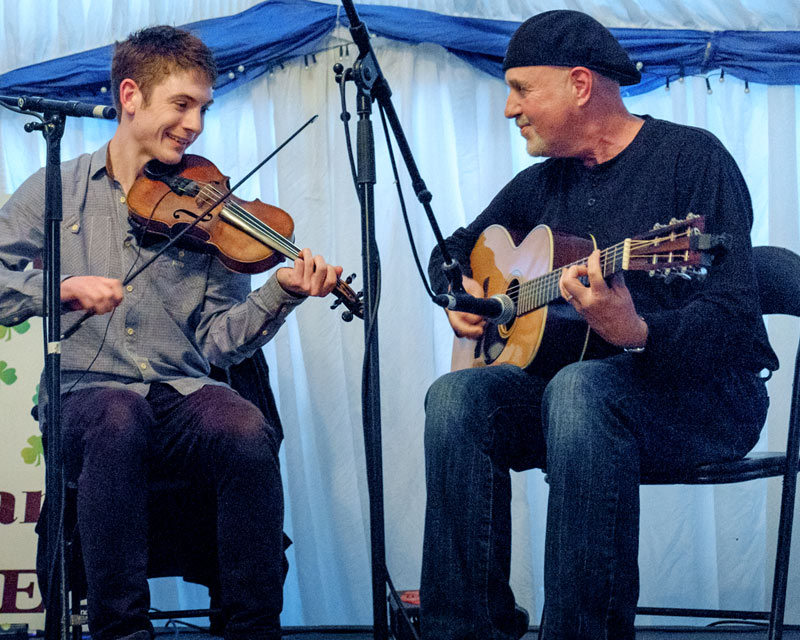 Traditional Scottish Fiddler Ryan Young with Dennis Cahill