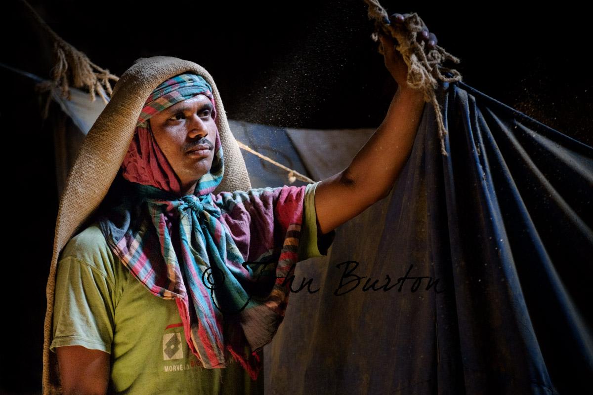 Rice Mill Worker Bangladesh